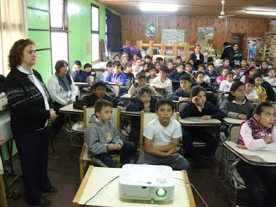 Ichoalay, Visitas, 2015, Chaco, Escuelas