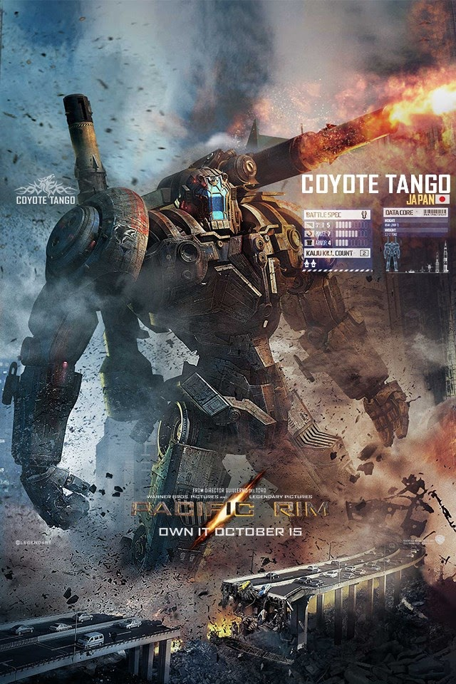 coyote tango in pacific rim wallpapers - 212.8KB
