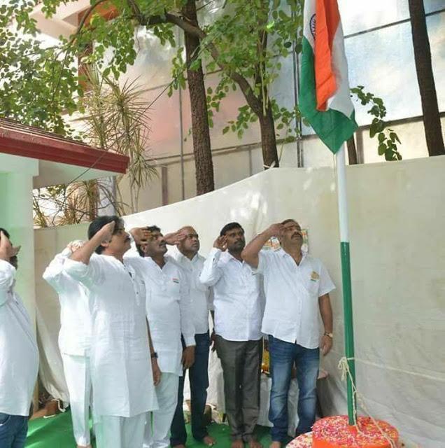 pawan kalyan flag hoisting jana sena party office photos%2B%25281%2529