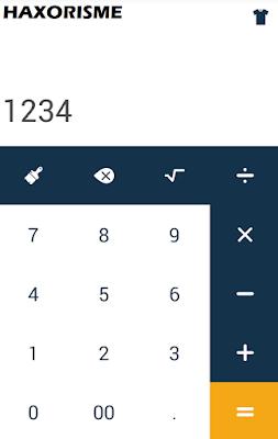 Mengisi Password Secret Kalkulator