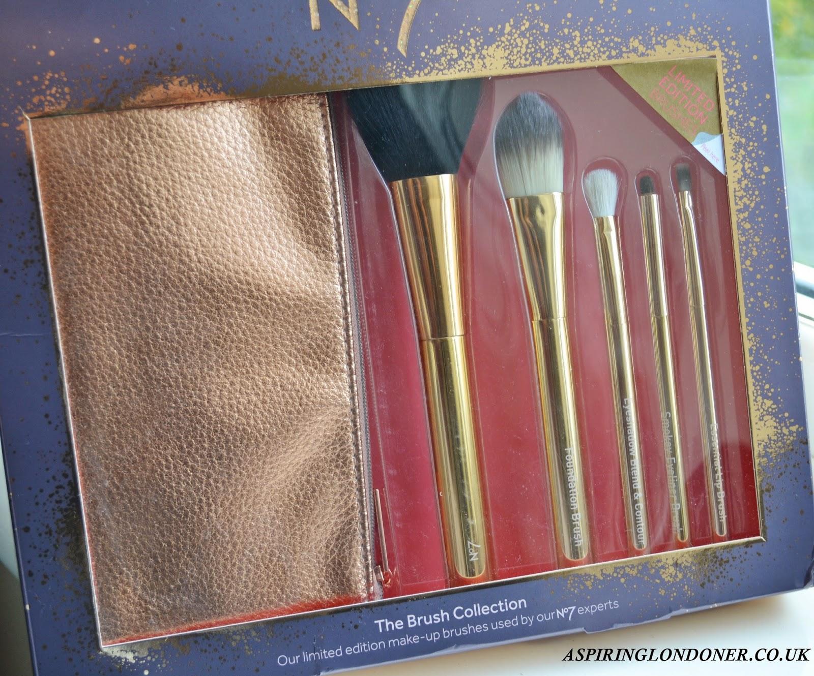 Make up a makeup brush sets boots no7