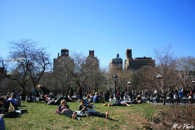 My Travel Background : Une semaine à New York : Greenwich Village Washington Square
