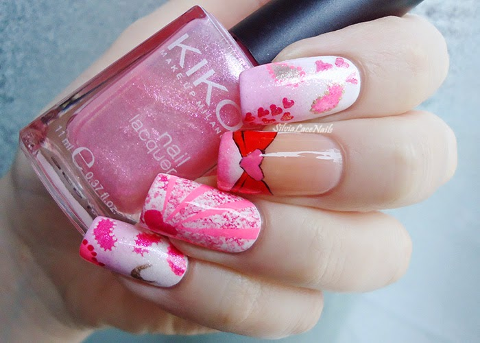 Silvia Lace Nails Sailor Moon Collab Manicure Chibiusa