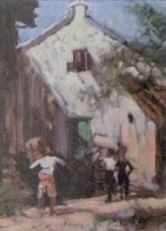 Salah Satu Karya Basoeki Abdullah Yang termasuk lukisan bercorak figuratif