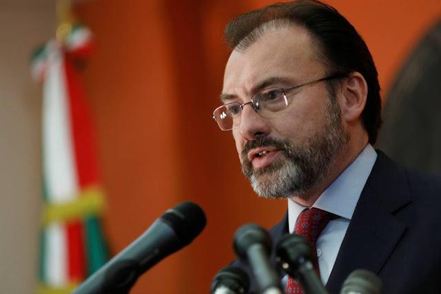 Videgaray revela que solamente ha recibido 2 millones de dolares por parte del extranjero tras sismo