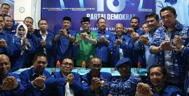 Mulai Solid ke IYL-Cakka, DPP Apresiasi Sikap DPC Demokrat