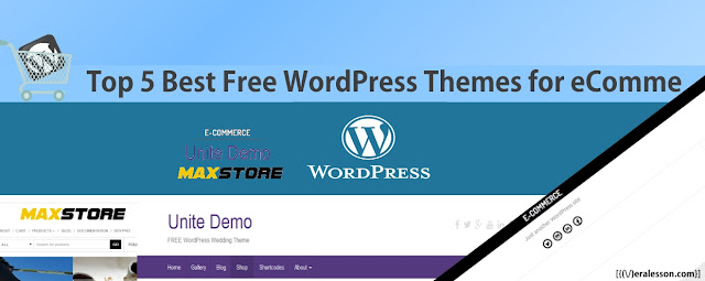 Top 5 Best Free WordPress Themes for eCommerce 2016