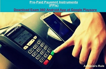 Pre-Paid Payment Instrument in India