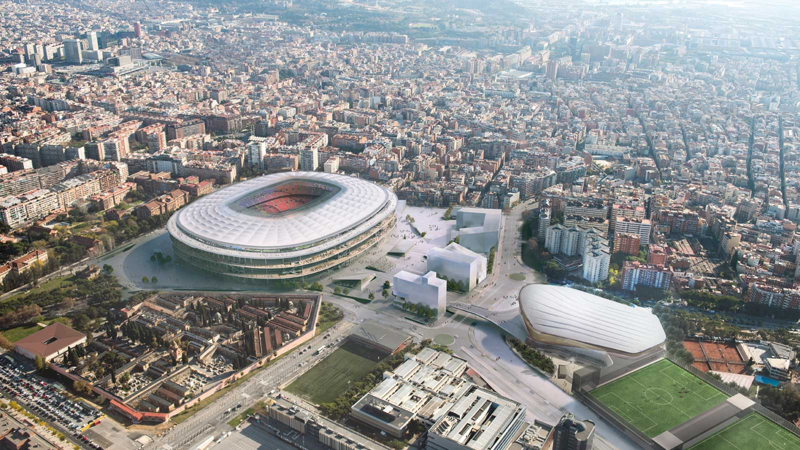 FC Barcelona Unveils New Camp Nou - Footy Headlines