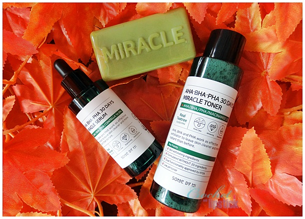 Some By Mi AHA BHA PHA 30 Days Miracle Series Inside Packaging