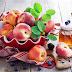 Персики с розмарином - необычно и вкусно!