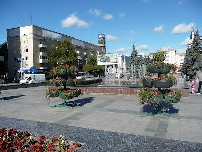 Житомир. Площа Соборна