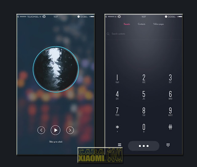 Screenshoot Tema Xiaomi King of The Day V8 Terbaru For MIUI