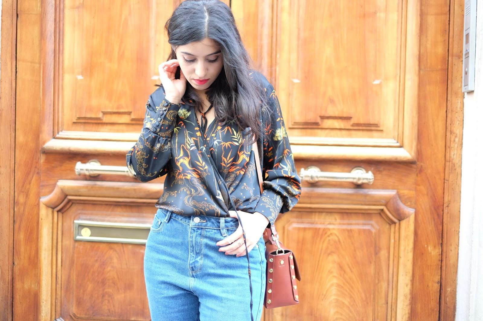 blog mode, blogueuse mode, blog mode lyon, modeuse, amenidaily, sac sandro, french blogger, jean mom, mom jean