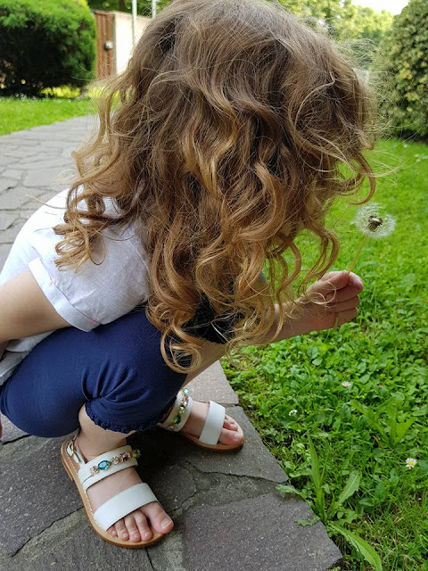 Sandali bambina Moda Positano estate 2018