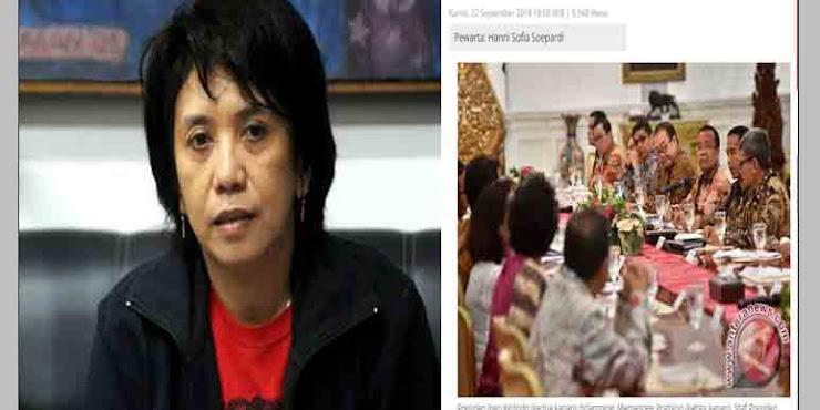 Istri Munir Akhirnya Sadar, Ternyata HAM cuma jadi komoditi politik Jokowi untuk berkuasa
