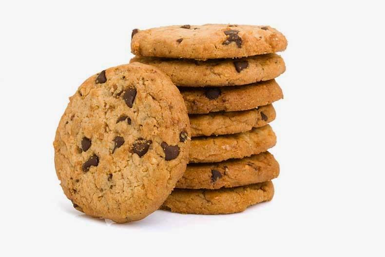 tu salud y la nutrici u00d3n los alimentos dulces   que nos chocolate chip cookies clipart black and white chocolate chip cookie clip art