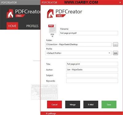 Download PDFCreator 3.1.1 free