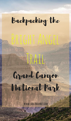 My 7 Favorite Adventures from 2016! Backpacking the Bright Angel Trail in Grand Canyon National Park
