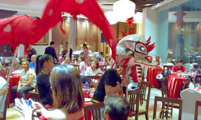 Dragon Dance at Lotus Court