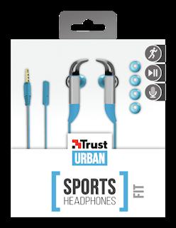trust auricolari in-ear sport 20321