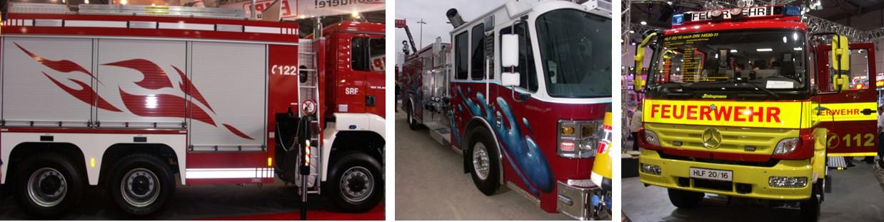 Emergente: Identificación de vehículos de bomberos y emergencias