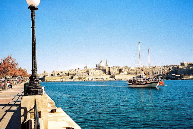 The view of Valletta, Malta from Sliema. Photo: Paul Stephenson.