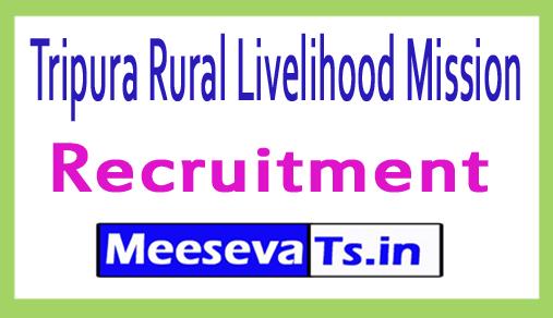 Tripura Rural Livelihood Mission TRLM SRP Recruitment