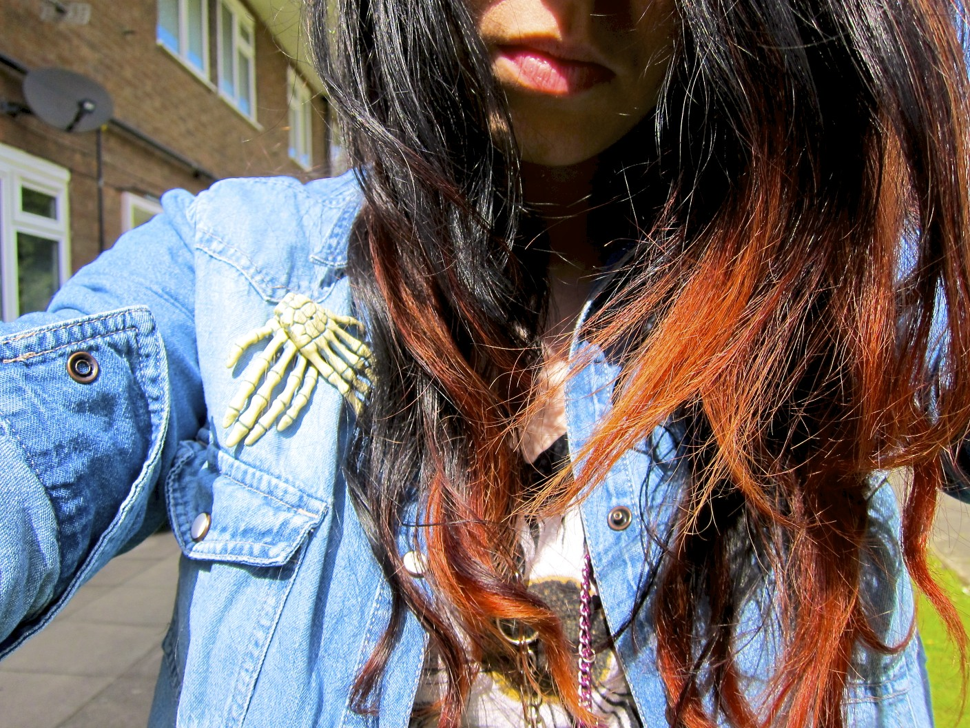 ... so yesterday: Get Savvy: A Guide On How To Dip Dye Pre Dyed Dark Hair