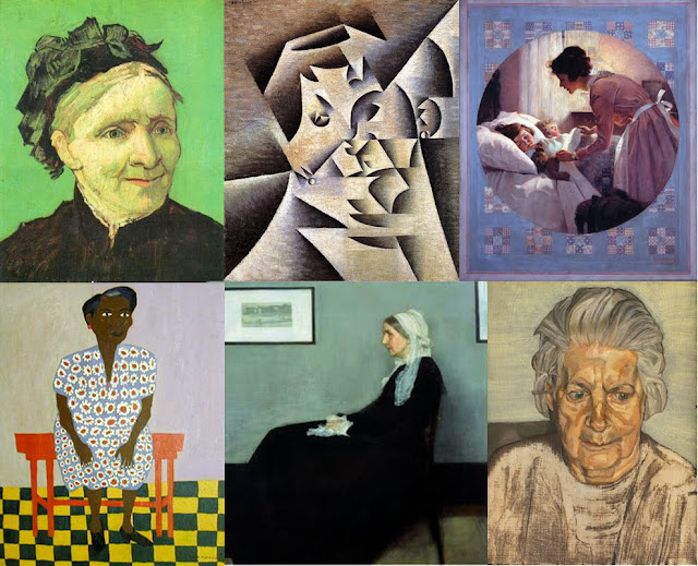 Famous Artists Paint Their Mothers