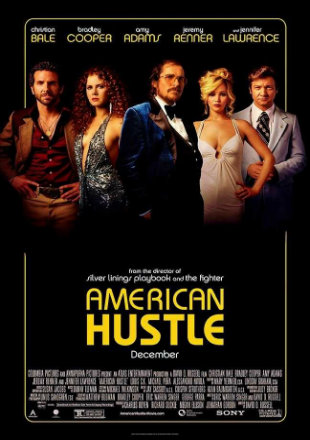 American Hustle 2013 Dual Audio BRRip 720p In Hindi English
