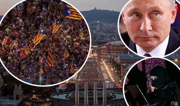 Ρωσία Σερβία Εξοπλίζουν Με Όπλα Τους Καταλανούς;