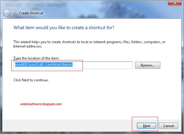 gambar cara kunci komputer dengan shortcut 1