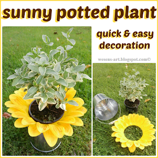 SunnyPottedPlant  wesens-art.blogspot.com