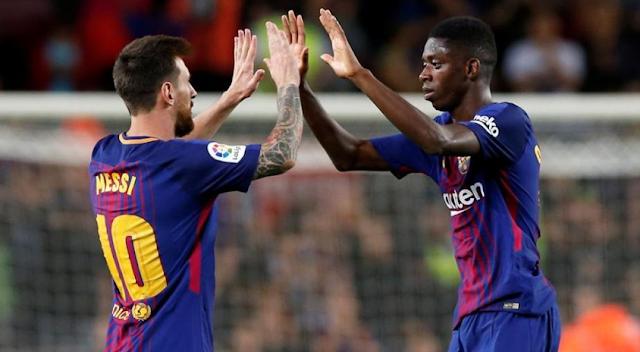 AGEN BOLA - Messi Catat Hattrick Dan Barcelona Kokoh di Puncak Klasemen