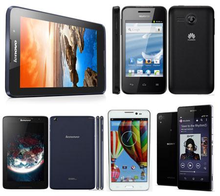 3 Smartphone dan 2 Tablet Terbaru Hiasi Pasar