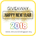 Giveaway Happy New Year 2018 (TAMAT)