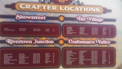 crafter locations sign dollywood