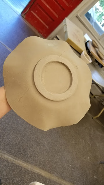 Pottery by Lily L, in progress.