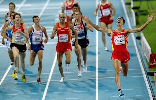 ATLETISMO - El último campeón de los 1500 metros, Arturo Casado, cuelga las botas