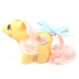 My Little Pony Thumbleweed Year Five Newborn Twin Ponies G1 Pony