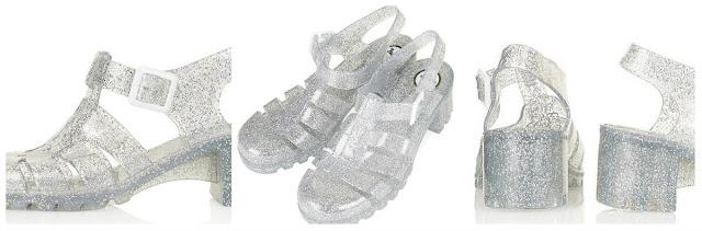 Nina2 Heel Jelly Sandals At TOPSHOP 2013 | Love, Maisie