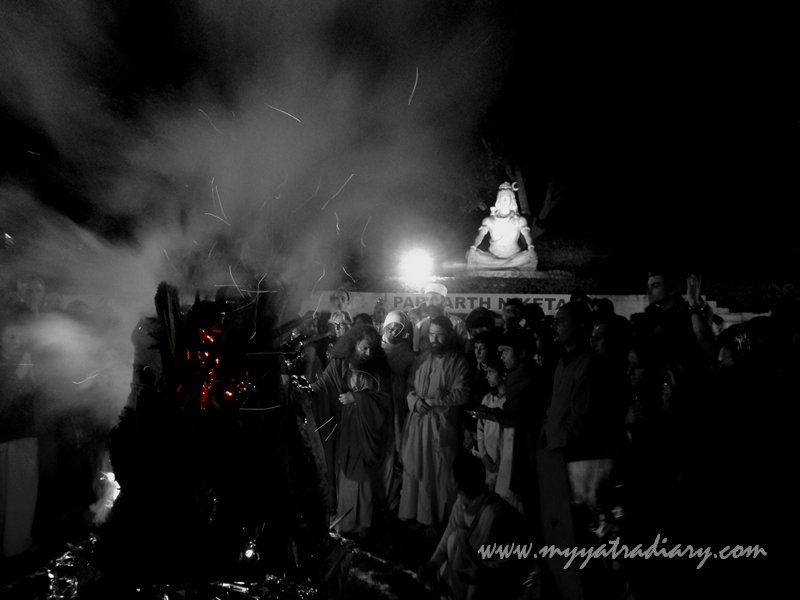 Celebrating Holi Holika Dahan Rishikesh