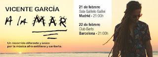 Conciertos en España de Vicente García