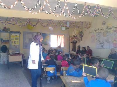 نشاط تربوي بمجموعة مدارس وانسكرا بإقليم الحوز