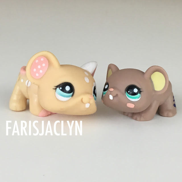 Mice Littlest Pet Shop LPS