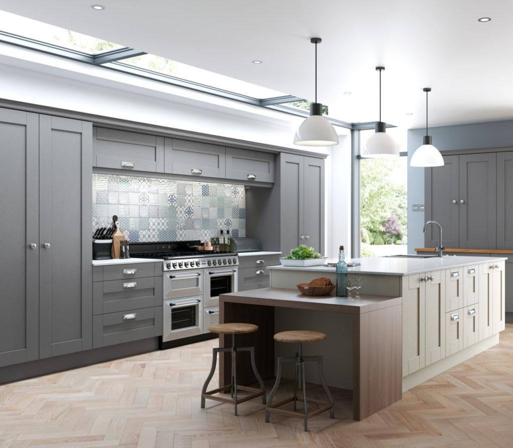 Escape Gray Kitchen: Kitchens Direct NI