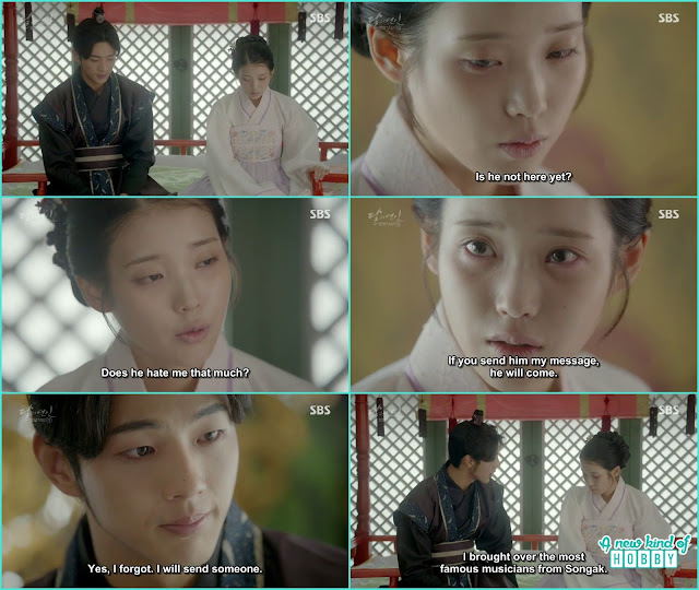 Hae Soo was worried she write so many letters but king didn't show up he hate her so much - Moon Lovers Scarlet Heart Ryeo - Episode 20 Finale (Eng Sub)