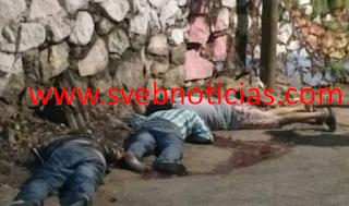 Ejecutan a tres hombre en el centro del puerto de Acapulco Guerrero