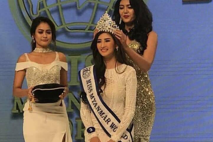 miss myanmar world 2018 winner han thi